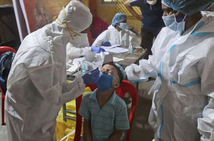 Outbreak soars, active Covid cases cross 5M mark in India