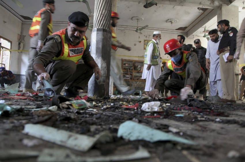 Powerful blast rips through Pak school, eight dead, 136 wounded with death toll on rise