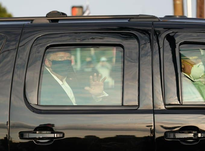 Forget 'guns and bombs,' COVID poses immediate threat to Secret Service as POTUS returns