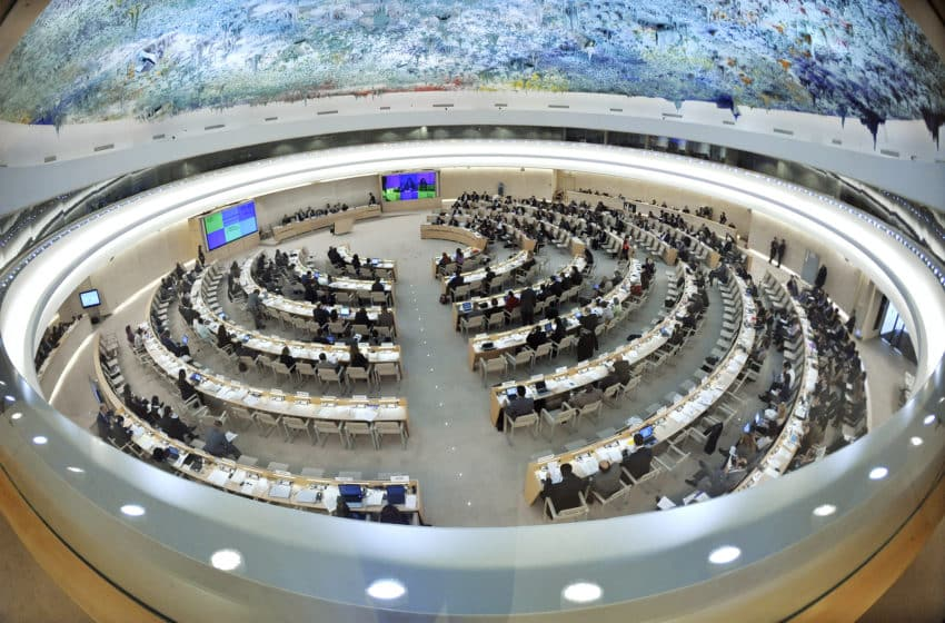UN Human Rights Council 2020 in session