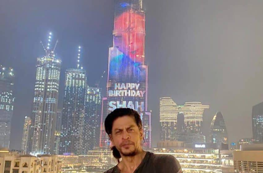 Burj Khalifa lights up to celebrate Bollywood Khan's big day!