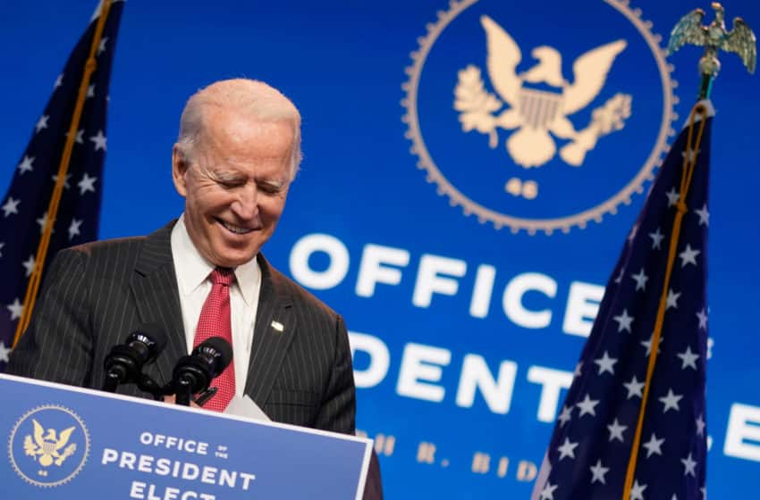 Biden camp snags Trump's 'no-concede' thumbs-up for transition at last