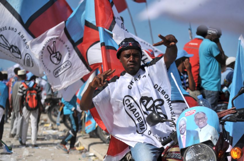 Tanzanian Opposition decries election 'fraud', rallies supporters to demand re-run