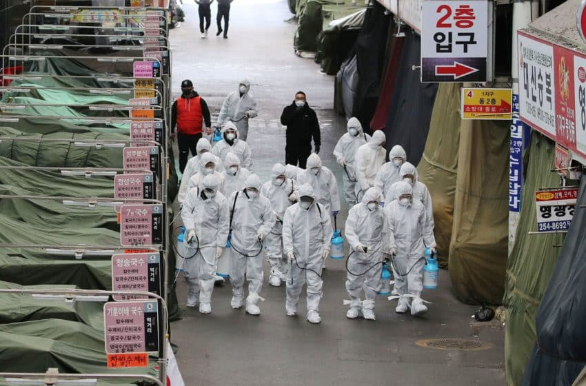 S.Korea imposes five-stage, anti-COVID measures amid virus hike, masks now mandatory nationwide