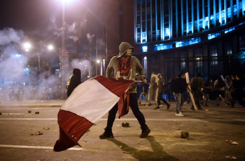Peru hails its third new leader in a week of bedlam politics and violence
