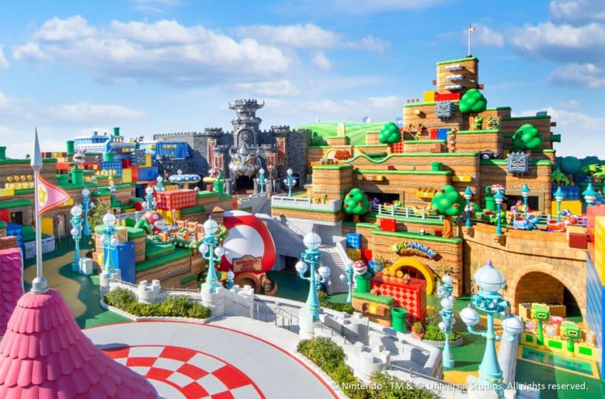 Super Nintendo World: The 'Mario' scape of your dreams soon to be a reality!