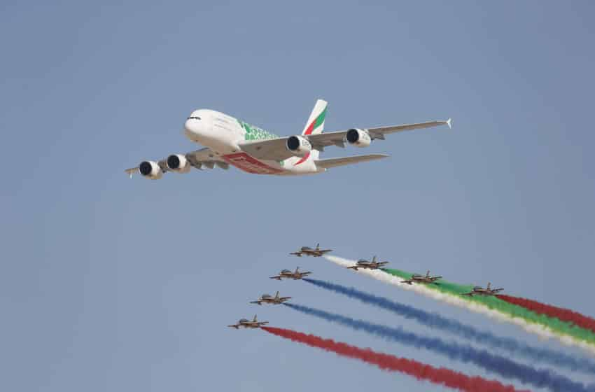 Dubai Airshow to streak coloured skies in 2021