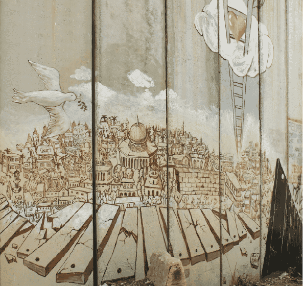 The Writing is on the Wall: A 'canvas' of symbols calling for long-due peace