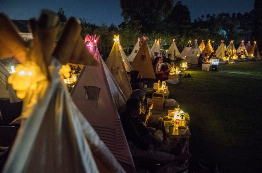 Indonesia's 'under the stars' movie nights offer safe respite from COVID blues