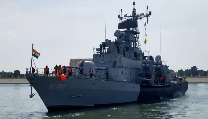 Indian Navy participating in NAVDEX 21, Abu Dhabi