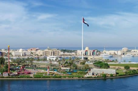 Sharjah-UAE-Union Flag-Flag Island