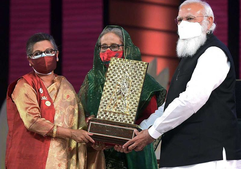 Have brought the love of 130 crore Indians for you: Indian PM Modi tells in Bangladesh