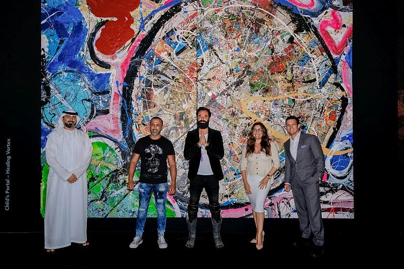 'The Journey of Humanity' painting sold for over AED227 million
