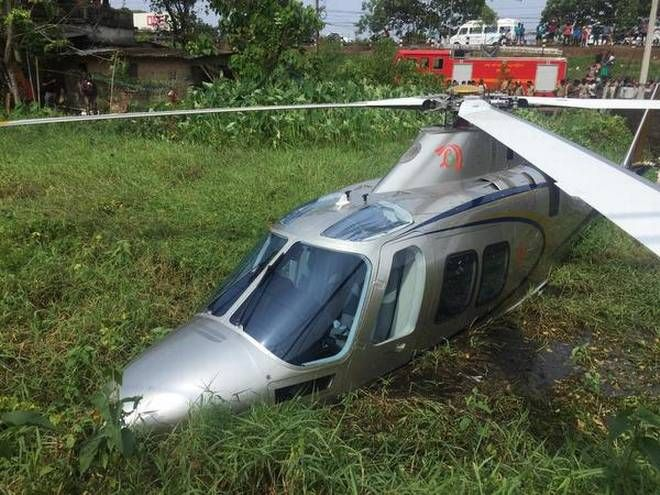 Helicopter with Lulu Group chairman MA Yousuf Ali onboard crash lands in Panangad in Kochi