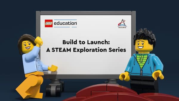 LEGO and NASA will soon take kids to new heights with free STEAM series