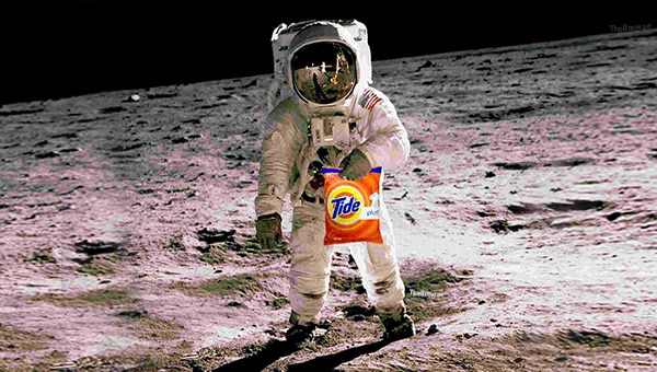 Tide gives NASA a hand to clean dirty laundry in space