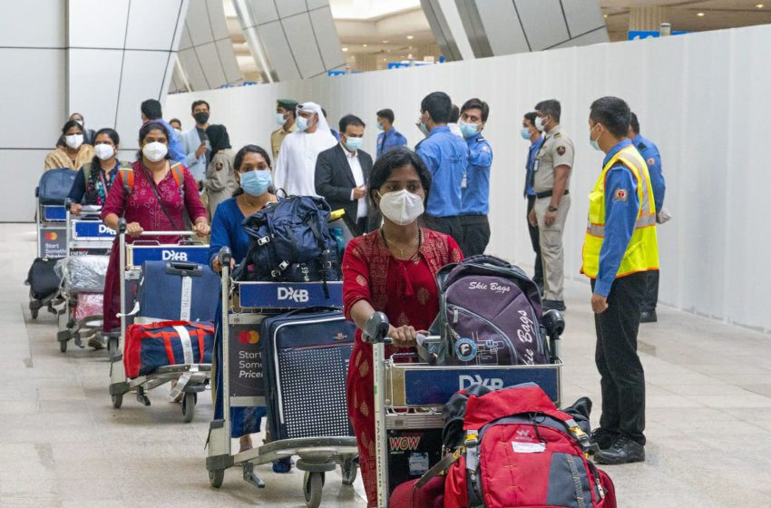 73 Medical Staff of Aster group from India, return in special flights