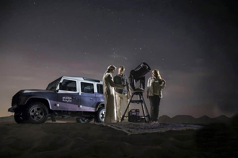Mleiha Archaeological Centre launches 'Mobile Stargazing Experience'