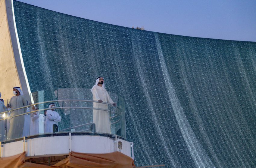 HH Sheikh Mohammed visits the Expo 2020 site