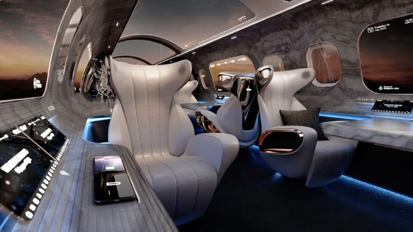 Virtual screens to be the future of air travel!