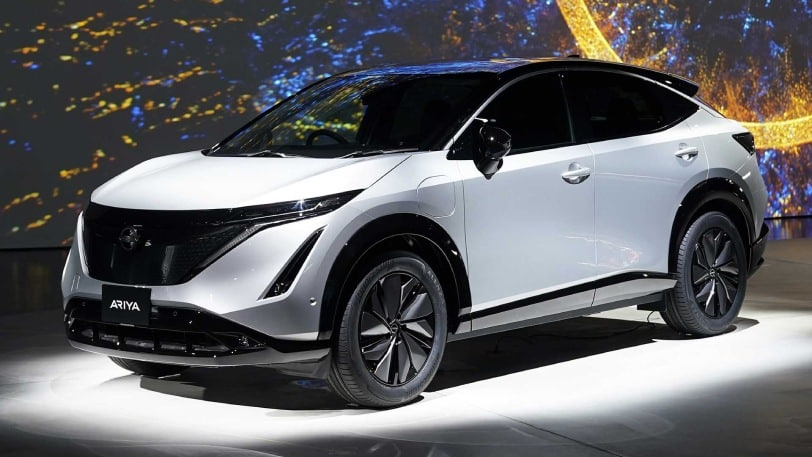 Ariya — Nissan's new all-electric car makes its debut at the Expo 2020!