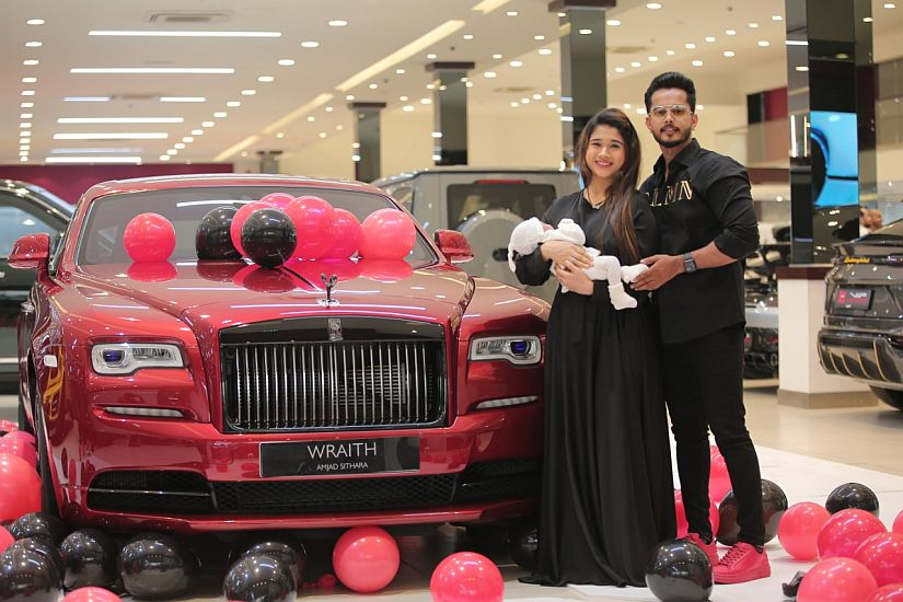 Exclusive Video: Loving husband gives wife a Rolls-Royce worth Dh 1.5 million as a birthday gift