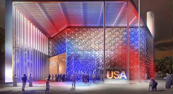 A unique piece of history is on display at Expo 2020 Dubai's USA pavilion!